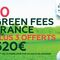 10 GF France + 3 offerts porteur Bluegreen Card